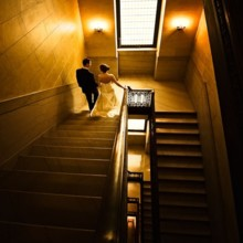 220x220 sq 1496159951931 staircase bride and groom