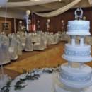 130x130 sq 1383589541959 photos   ballroom blue white cake tabl