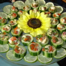 130x130 sq 1467318504087 ceviche in cucumber cups copy