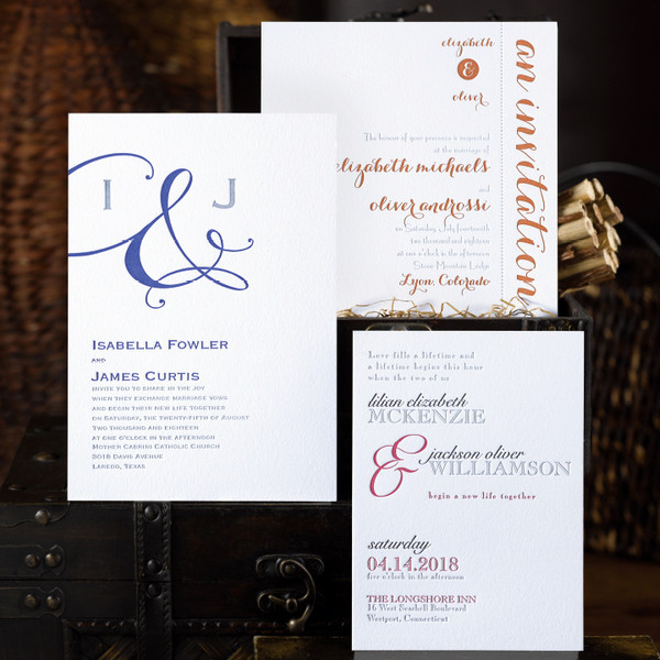 Hyegraph invitations and calligraphy san francisco ca for Wedding invitation printing san antonio
