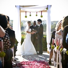 220x220 sq 1395346970752 ceremony on patio flory 200