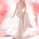 130x130 sq 1423325493110 hayley paige bridal cashmere fit to flare beading