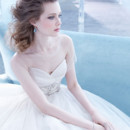 130x130 sq 1423325830252 lazaro bridal ball gown strapless sweetheart pleat