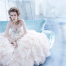 130x130 sq 1423325839948 lazaro bridal organza flounce gown lace strapless