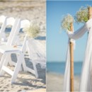 130x130 sq 1422568417175 beach ceremony with babys breath shells