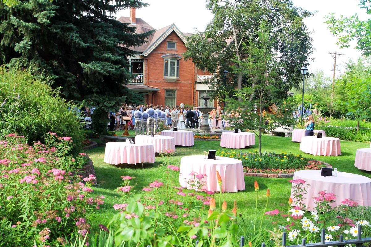 Historic Callahan House And Garden Venue Longmont Co