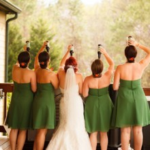 220x220 sq 1416669390343 bridesmaids drinking
