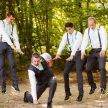 220x220 sq 1416669397588 funny groom and groomsmen picture