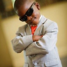 220x220 sq 1416669780679 cute ringbearer in sunglasses