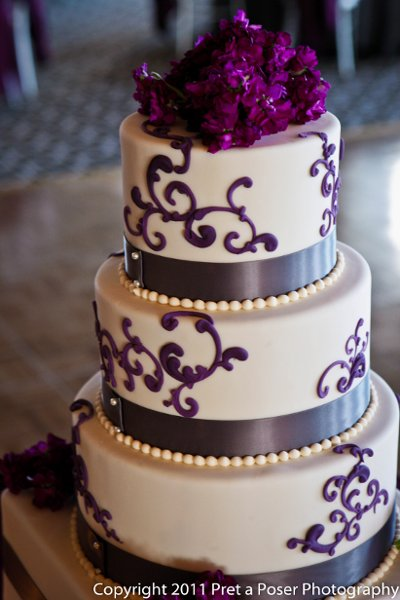 Purple Silver White Dance Floor Indoor Reception Multi Shape Wedding Cakes Photos Amp Pictures