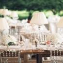 130x130 sq 1384204346384 farm tables with crystal chairs hmr design