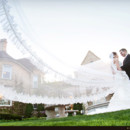 130x130 sq 1444665079143 dramatic cathedral veil wedding photo
