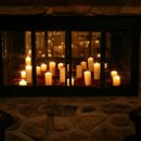 130x130 sq 1269885568728 fireplacewithcandles