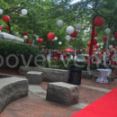 130x130 sq 1467321924150 t red carpet tree wrap  lanterns 3 2