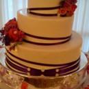 130x130 sq 1471116324369 3 tier round purple ribbon