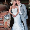130x130 sq 1430924235711 wedding couple in barn with truck