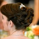 130x130 sq 1226185791851 sophisticated curl bridal updo