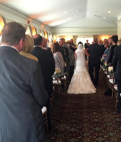 600x600 1444147653396 inside ceremony 10 3 15 bride down aisle