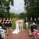 Janet & Lars got lucky with the weather for their outdoor ceremony