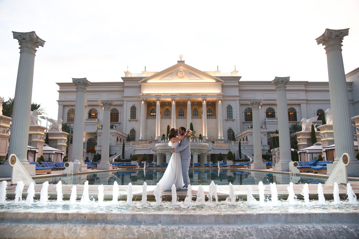 Caesars Palace Wedding Chapel Venue Las Vegas Nv