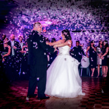 220x220 sq 1478724669016 first dance with confetti