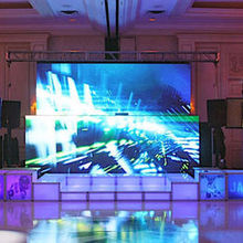 220x220 sq 1461600338 57cc54710c7675ea ballroom with stage screen