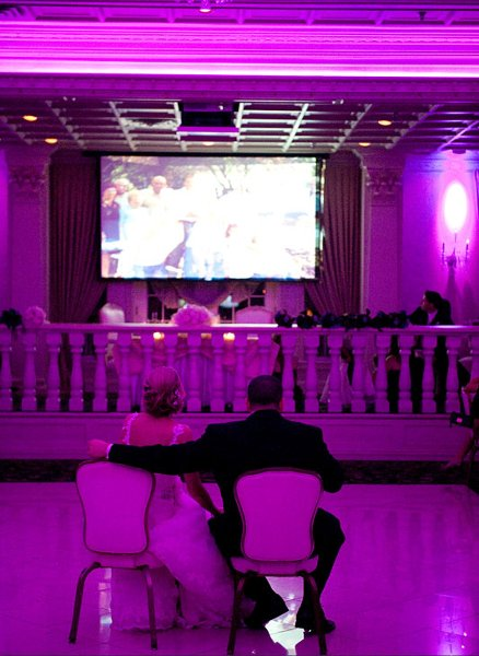 1364494687374 Balroomvideoscreens5 Belleville wedding venue