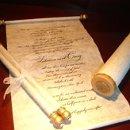 130x130 sq 1199405302050 scroll mitzvah   wedding invitations 000