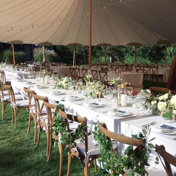 Wedding Venue Setup: Amagansett, NY Wedding Venue