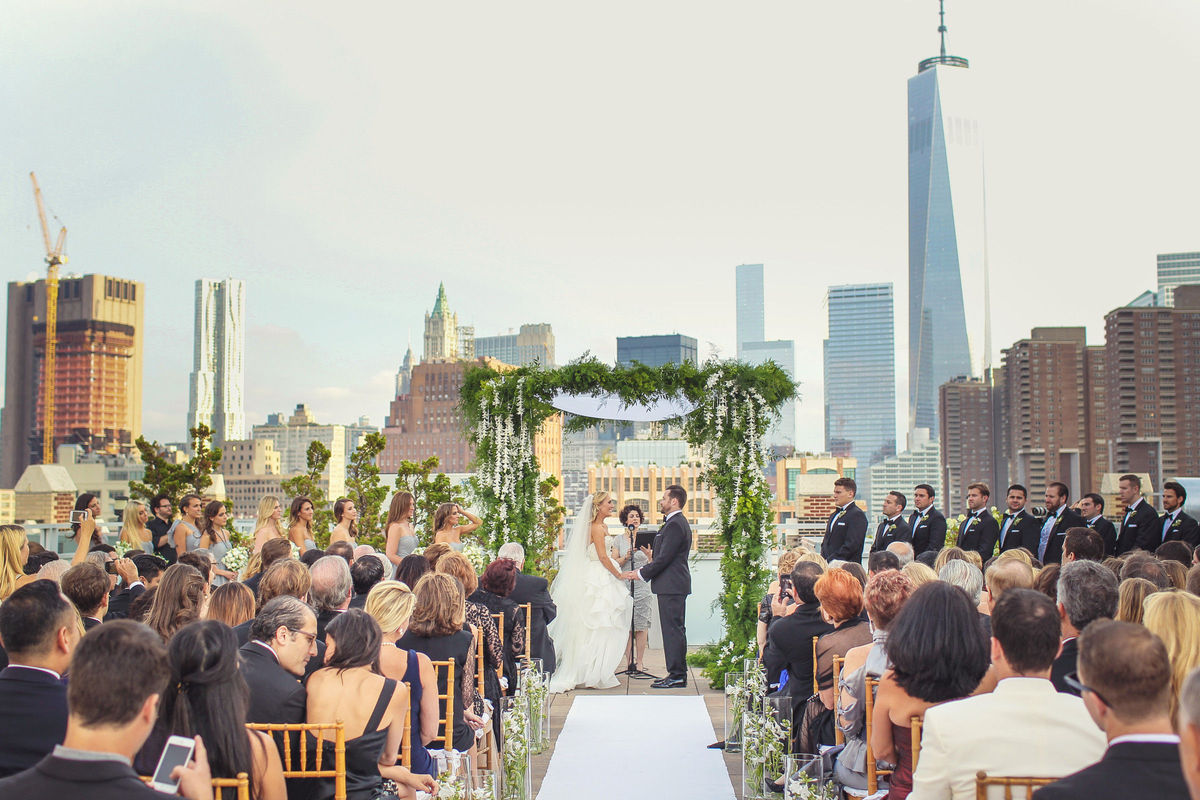 Tribeca rooftop venue new york ny weddingwire for Small wedding venues ny