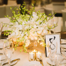 130x130 sq 1453660380577 table shot low centerpiece