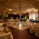 130x130 sq 1424811070152 ctr wedding white dance floor with bandstand drapi