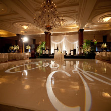 220x220 sq 1424810877968 ctr wedding vinyl dance floor and gobo 2