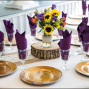 130x130 sq 1452275011397 rustic centerpieces with vibrant flowers