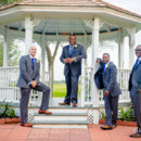 130x130 sq 1452275501835 casual groomsmen at the gazebo at house plantation
