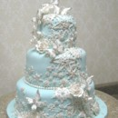 130x130 sq 1391101985556 snowflake butterfly wedding cake 00