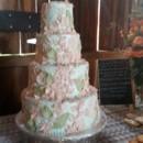 130x130 sq 1415837575631 blush wedding cake garden style