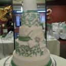 130x130 sq 1415837922178 green wedding cake 2
