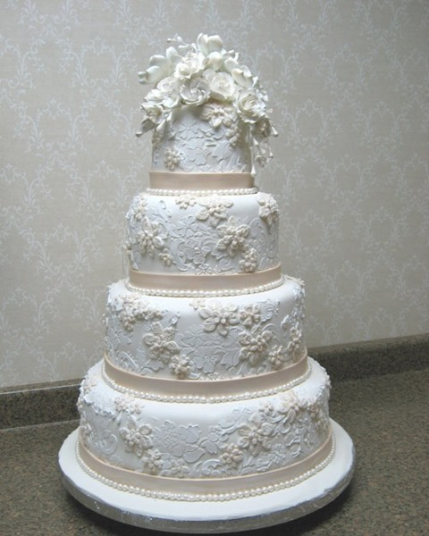 wedding cakes lace and pearl fabulous wedding cakes front royal va wedding cake 24864
