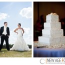 130x130 sq 1370537866154 wedding delauder bride  groom on the course