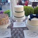 130x130 sq 1468426185309 cake trio sprinkle bow ribbon navy
