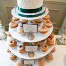130x130 sq 1468436223831 cupcake tower fluffy texture green ribbon