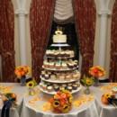 130x130 sq 1468436273921 cupcake tower sunflowers
