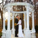 130x130 sq 1414601487556 bride and groom fall gazebo