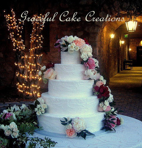 wedding cake bakery mesa az graceful cake creations mesa az wedding cake 21949