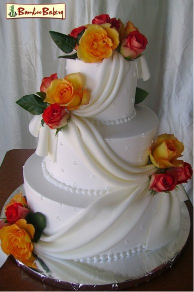 wedding cakes in phoenix bamboo bakery az wedding cake 24730
