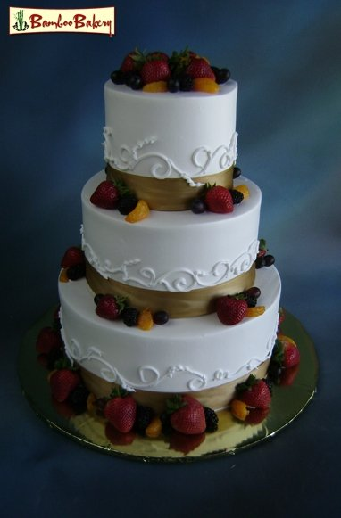 Bamboo Bakery Phoenix AZ Wedding Cake