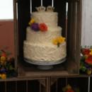 130x130 sq 1404333588235 wood crate cake display closeup