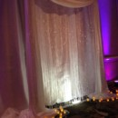 130x130 sq 1404334691606 crystal curtain arch backdrop with floor votives