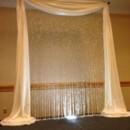 130x130 sq 1404334705807 ivory crystal curtain arch2